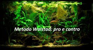 Metodo Walstad: pro e contro!